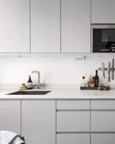 Unusual White Kitchen Design Ideas To Try 58