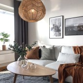 Attractive Small Living Room Decor Ideas With Perfect Lighting 28