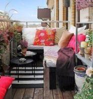 Casual Small Balcony Design Ideas For Spring This Season 04