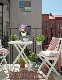 Casual Small Balcony Design Ideas For Spring This Season 10