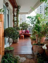 Casual Small Balcony Design Ideas For Spring This Season 20