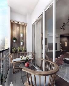 Casual Small Balcony Design Ideas For Spring This Season 41