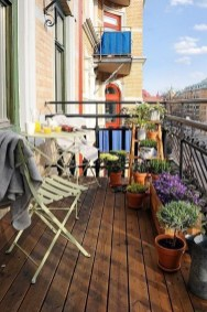Casual Small Balcony Design Ideas For Spring This Season 43