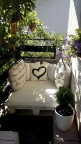 Casual Small Balcony Design Ideas For Spring This Season 47