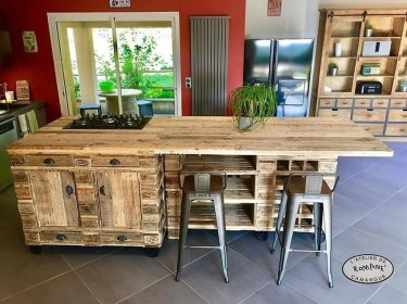 Chic Diy Projects Pallet Kitchen Design Ideas To Try 07