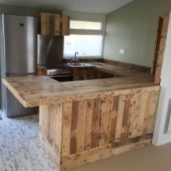 Chic Diy Projects Pallet Kitchen Design Ideas To Try 10