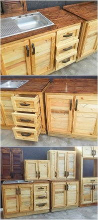 Chic Diy Projects Pallet Kitchen Design Ideas To Try 16