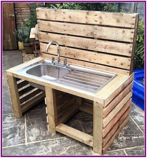 Chic Diy Projects Pallet Kitchen Design Ideas To Try 18