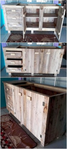 Chic Diy Projects Pallet Kitchen Design Ideas To Try 44