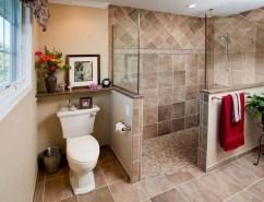 Chic Farmhouse Bathroom Desgn Ideas With Shower 09