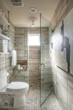 Chic Farmhouse Bathroom Desgn Ideas With Shower 14