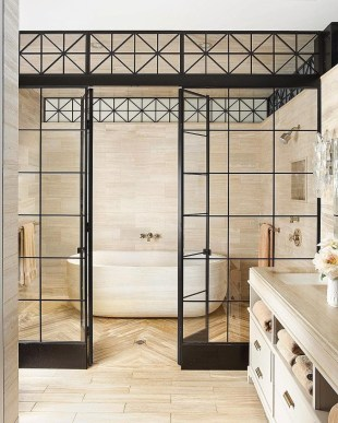 Chic Farmhouse Bathroom Desgn Ideas With Shower 44