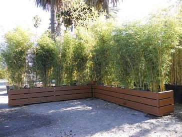 Dreamy Bamboo Fence Ideas For Small Houses To Try 13