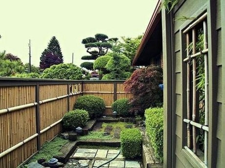 Dreamy Bamboo Fence Ideas For Small Houses To Try 21