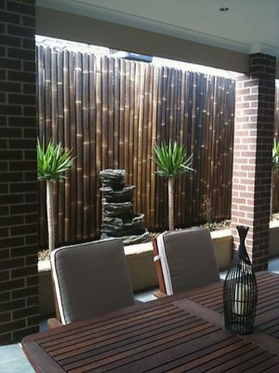 Dreamy Bamboo Fence Ideas For Small Houses To Try 30