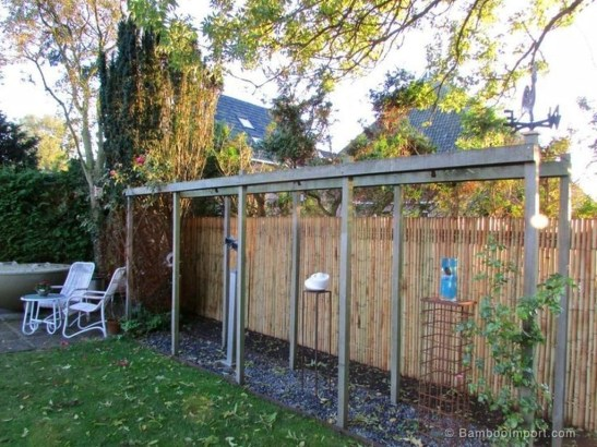 Dreamy Bamboo Fence Ideas For Small Houses To Try 35