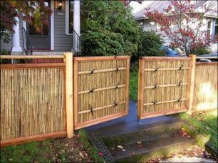 Dreamy Bamboo Fence Ideas For Small Houses To Try 51