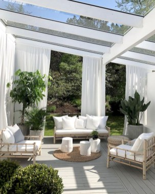 Elegant Backyard Patio Design Ideas For Your Garden 17
