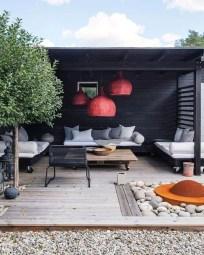 Elegant Backyard Patio Design Ideas For Your Garden 20