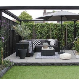 Elegant Backyard Patio Design Ideas For Your Garden 40
