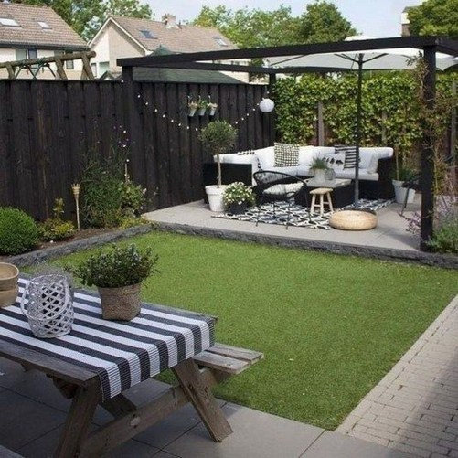 Elegant Backyard Patio Design Ideas For Your Garden 49