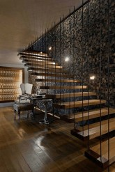 Gorgeous Wooden Staircase Design Ideas For Branching Out 10