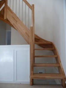 Gorgeous Wooden Staircase Design Ideas For Branching Out 22