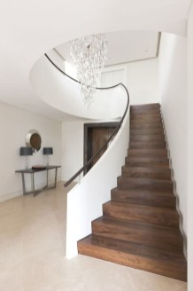 Gorgeous Wooden Staircase Design Ideas For Branching Out 39