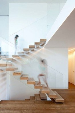 Gorgeous Wooden Staircase Design Ideas For Branching Out 54