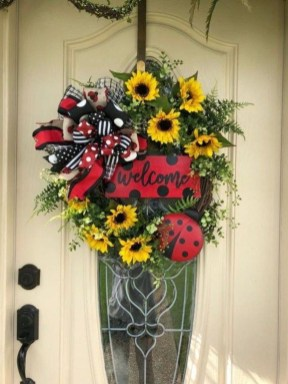 Hottest Summer Wreath Design And Remodel Ideas 06