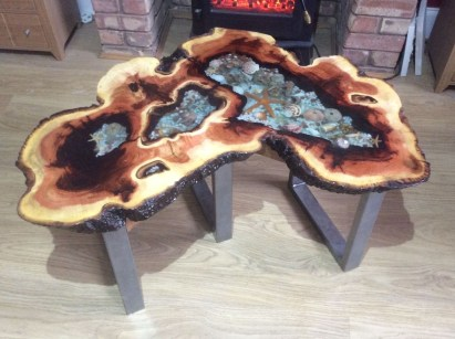 Impressive Home Furniture Ideas With Resin Wood Table 21