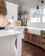 Latest Farmhouse Kitchen Décor Ideas On A Budget 35