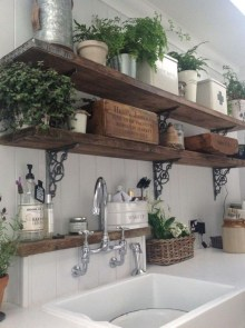 Latest Farmhouse Kitchen Décor Ideas On A Budget 37