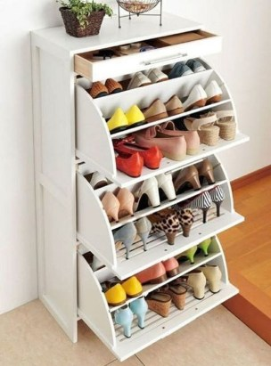 Latest Shoes Rack Design Ideas To Try 21