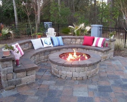 Newest Backyard Fire Pit Design Ideas That Looks Great 03