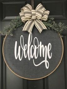 Newest Front Door Wreath Decor Ideas For Summer 01