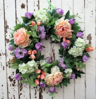 Newest Front Door Wreath Decor Ideas For Summer 07