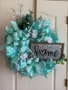 Newest Front Door Wreath Decor Ideas For Summer 52