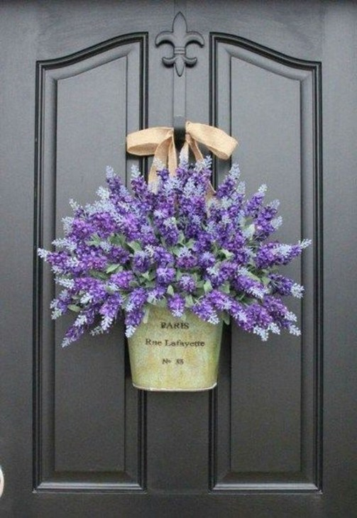 Newest Front Door Wreath Decor Ideas For Summer 54