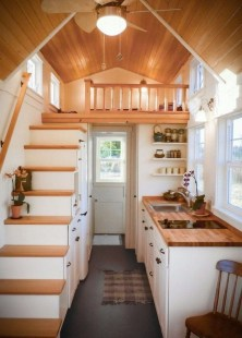 Rustic Tiny House Interior Design Ideas You Must Have 19