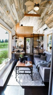 Rustic Tiny House Interior Design Ideas You Must Have 28