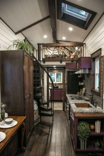 Rustic Tiny House Interior Design Ideas You Must Have 32