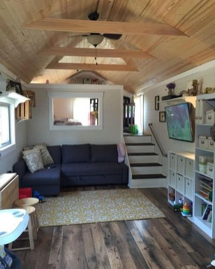 Rustic Tiny House Interior Design Ideas You Must Have 44