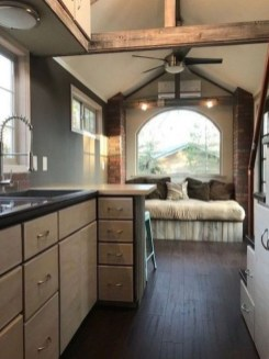 Rustic Tiny House Interior Design Ideas You Must Have 46