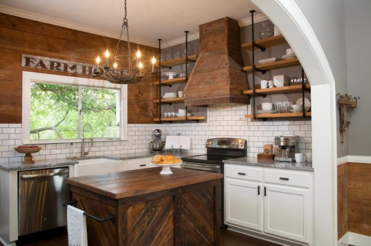 Trendy Fixer Upper Farmhouse Kitchen Design Ideas 17