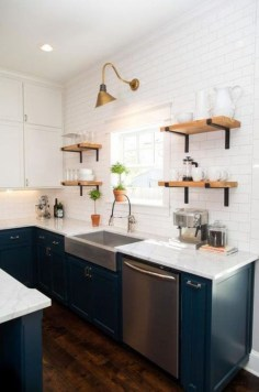 Trendy Fixer Upper Farmhouse Kitchen Design Ideas 18
