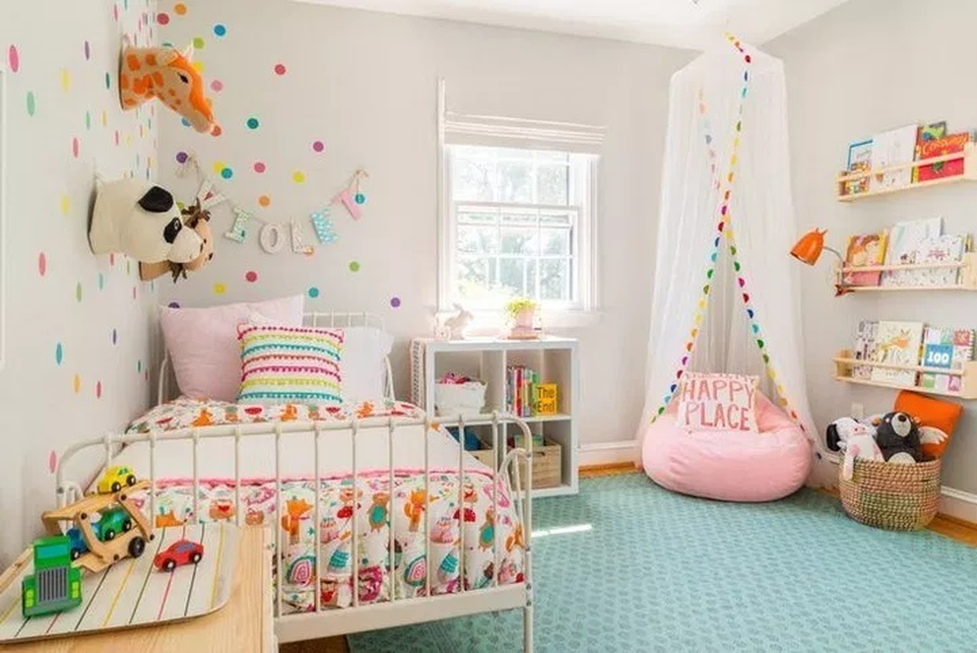Vintage Girls Bedroom Ideas For Small Rooms To Try 02