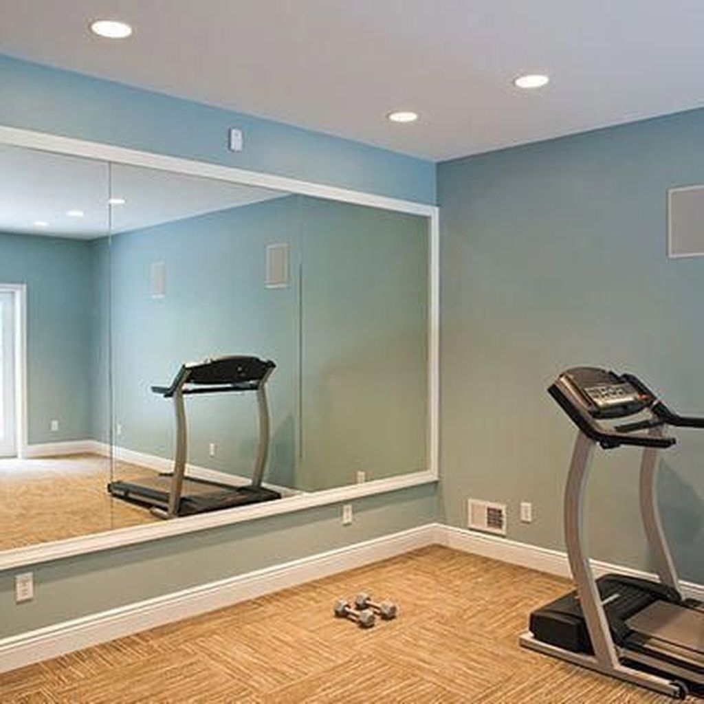 Astonishing Home Gym Room Design Ideas For Your Family 35