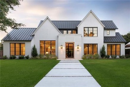 Cute Farmhouse Exterior Design Ideas That Inspire You 25