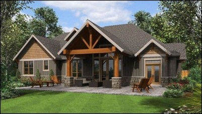 Cute Farmhouse Exterior Design Ideas That Inspire You 26